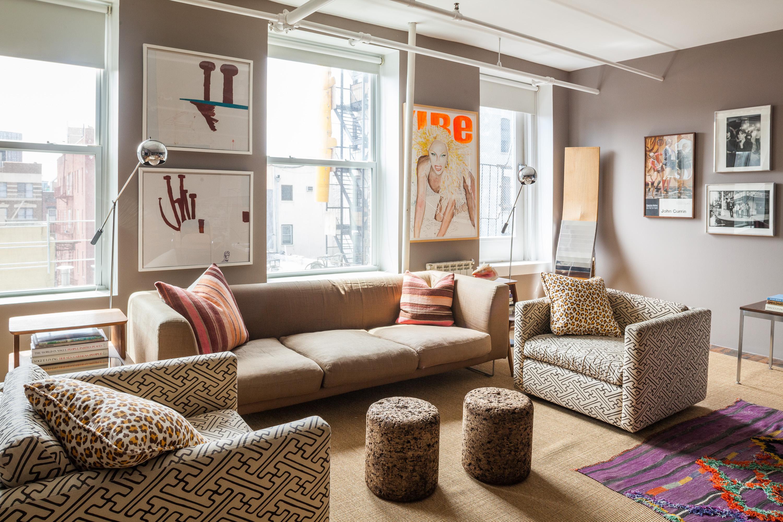 Hitta inspiration fantastiskt vardagsrum i brunt. soffa och övrig ...